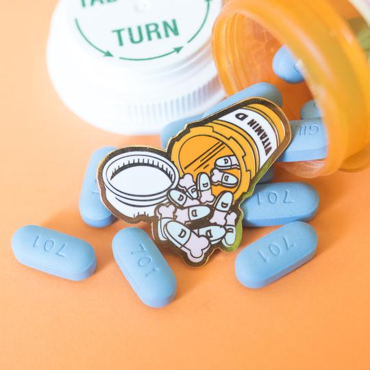Vitamin D Pin by Gaypin'