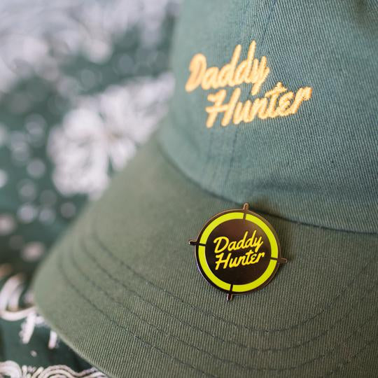 Daddy Hunter Pin by Gaypin'