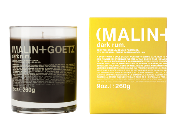 Malin+Goetz Dark Rum Candle 9 oz / 260 g