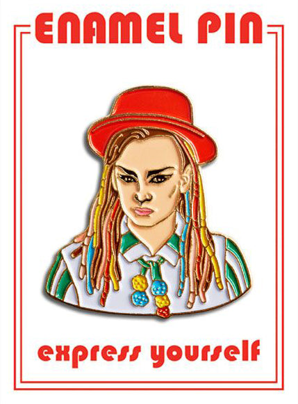 Boy George Pin By The Found