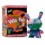 "Andy Warhol 3"" Dunny Blind Box Mini Series by Kidrobot"