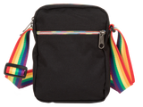 Pride Black Rainbow Mini Bag by EASTPAK