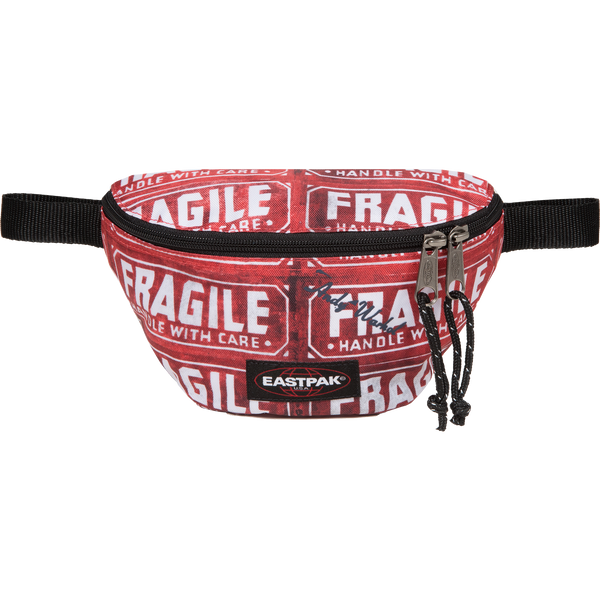 Red Fragile Waist Bag by Andy Warhol x Eastpak