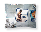 Camp Pillow Cover by Finlayson x Tom of Finland