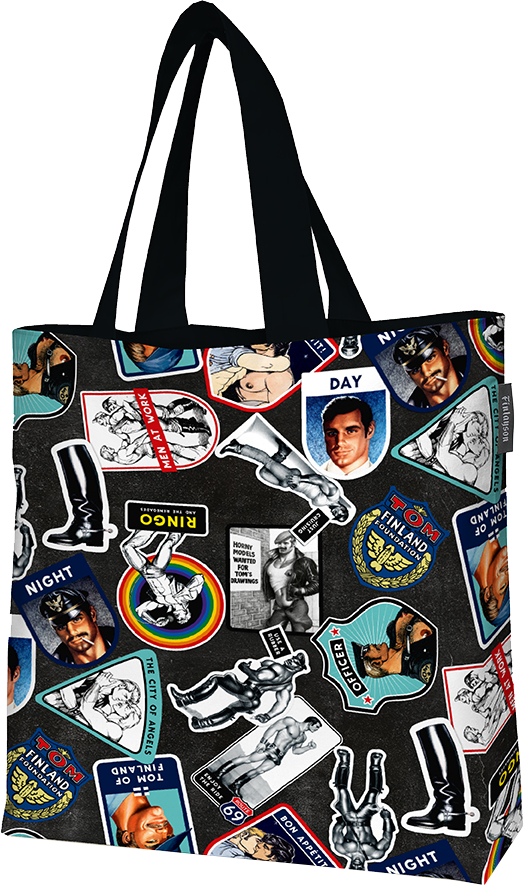Hook-Up Tote Bag by Finlayson x Tom of Finland