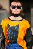 Sun and Moon Silk T-Shirt by Walter Van Beirendonck