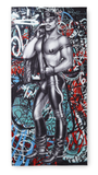 Tom of Finland Back Alley Bath Towel by Finlayson