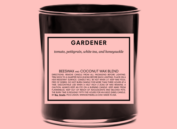 Gardner Candle by Boy Smells