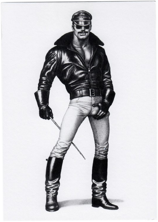 Get It - Tom of Finland Postcard