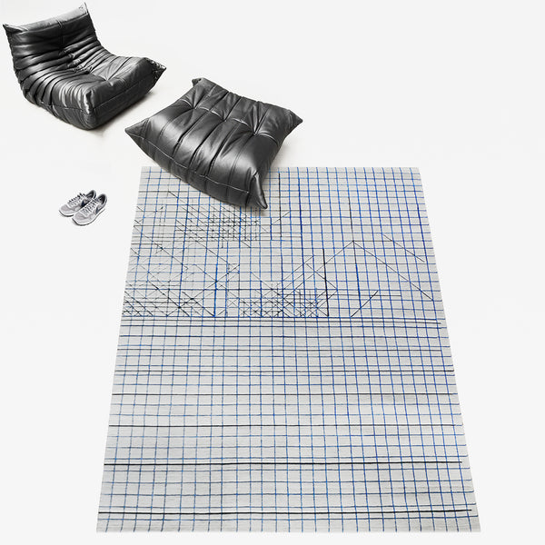 Wilhelm Sasnal: Henzel Studio Collaborations Art Rug