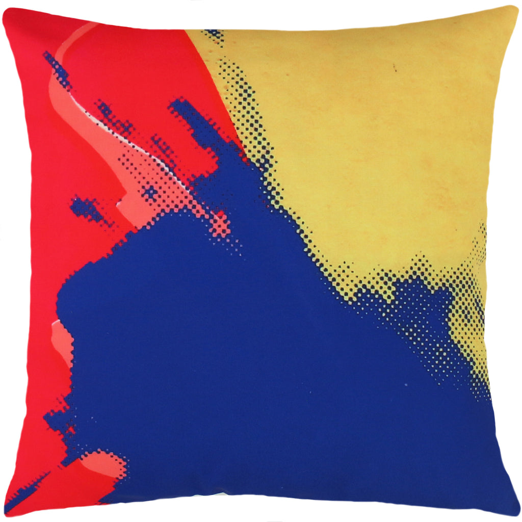 Tom of Finland Store : Andy Warhol Maquette Detail Art Pillow for Henzel Studio
