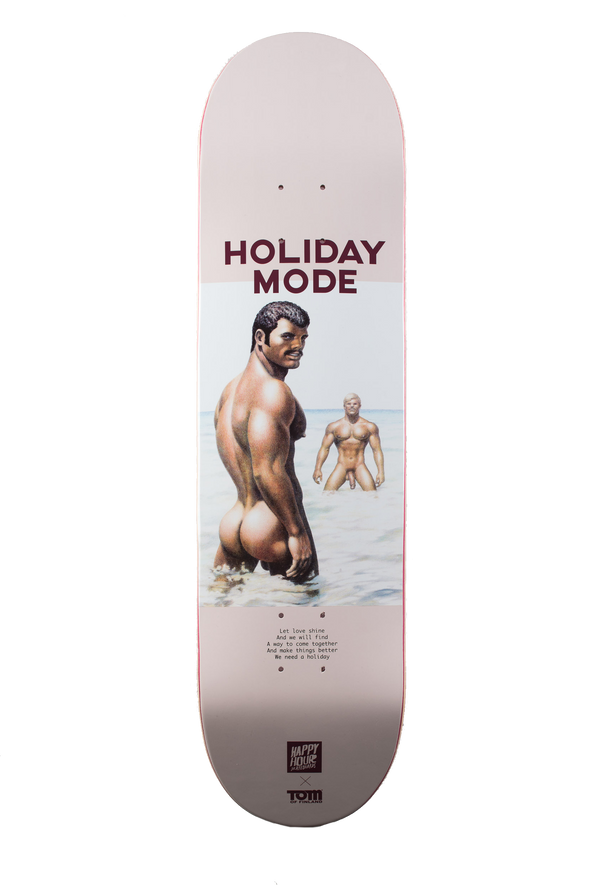 Tom of Finland x Happy Hour Skateboard: Holiday Mode