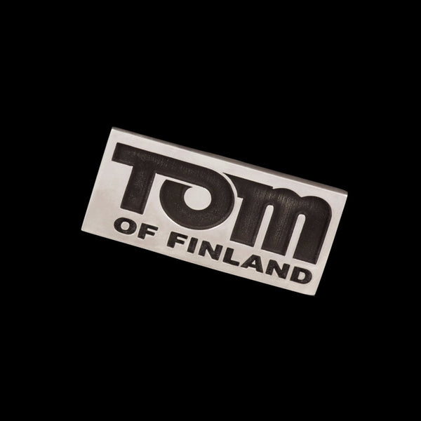 Jonathan Johnson x Tom of Finland TOM'S LOGO Sterling Silver Pin