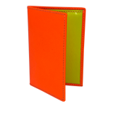 Comme des Garçons Super Fluo Light Orange Folded Small Wallet
