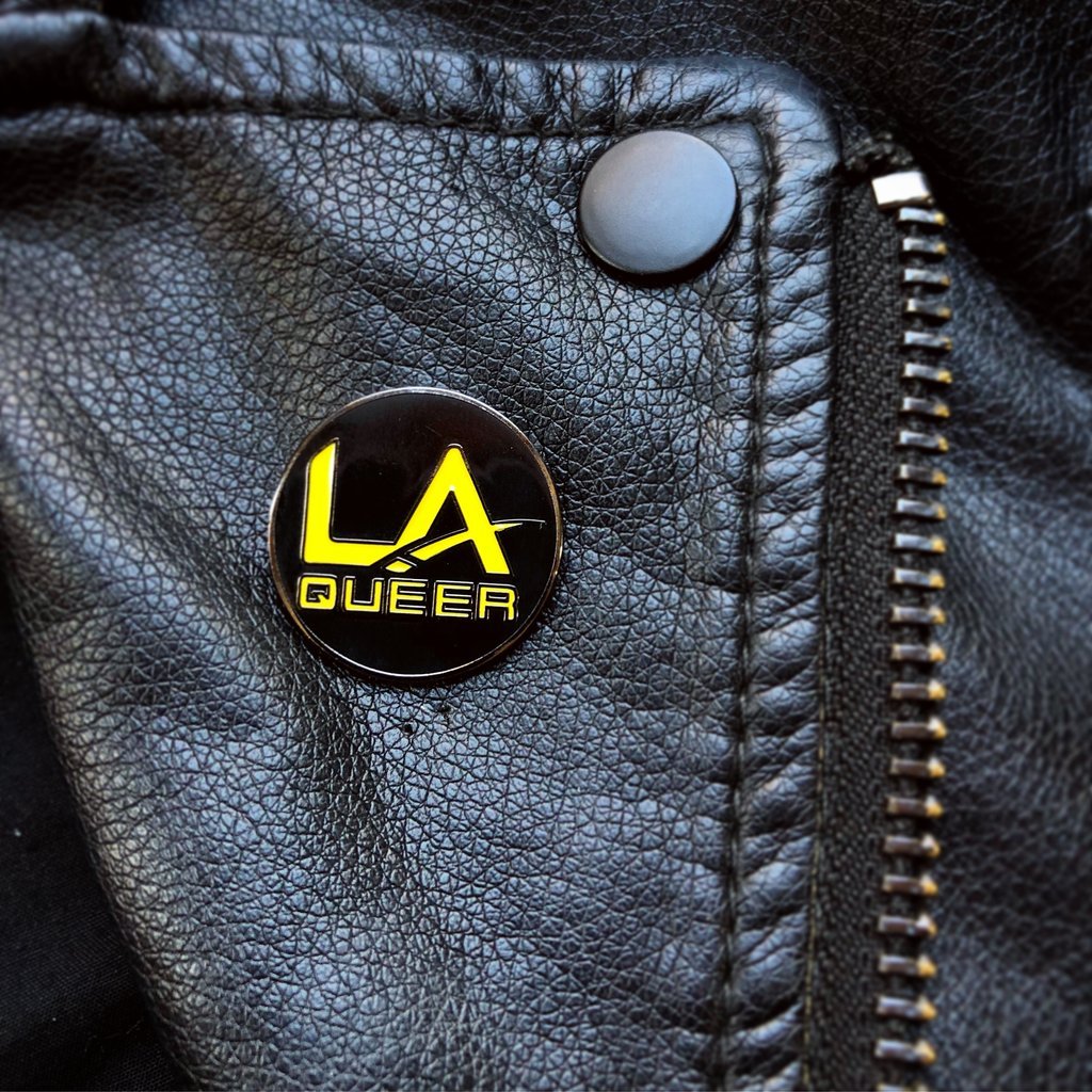 LA Queer Pin By Starrfucker Magazine x 3rd Class Clothing