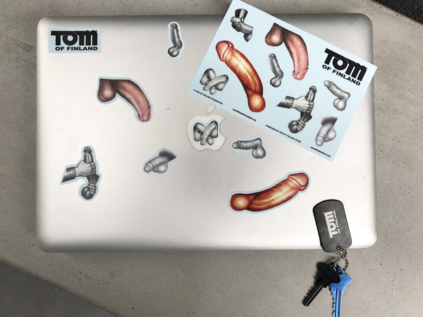 "Tom of Finland ""Dicks"" Sticker Sheet"