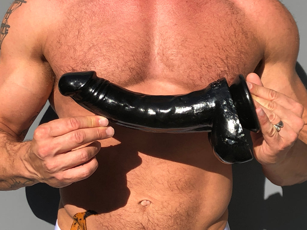 Tom of Finland Black Magic 12 Inch Dildo