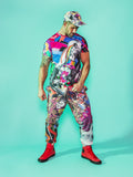 Print All Over Me avaf x Tom of Finland Tracksuit Pant modeled by Adam Killian