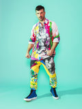 Print All Over Me avaf x Tom of Finland Work Shirt modeled by Adam Killian
