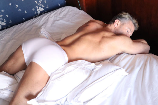 White Boxer Brief by Boy Smells Unmentionables