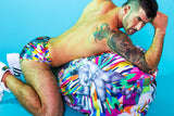 Print All Over Me avaf x Tom of Finland Bean Bag modeled by Adam Killian