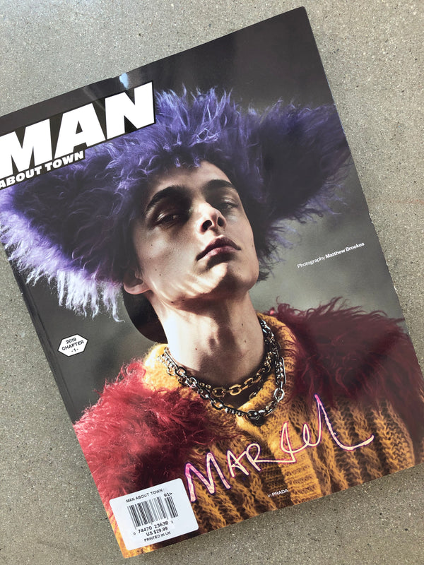 MAN ABOUT TOWN:  2019, CHAPTER 1 MARCEL KORUSIEWICZ COVER