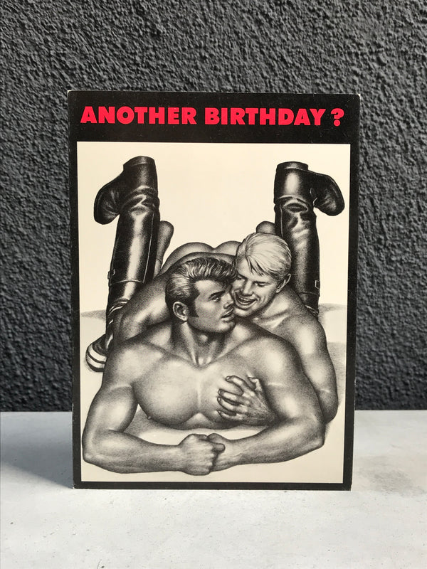 Vintage Tom of Finland Another Birthday Greeting Card