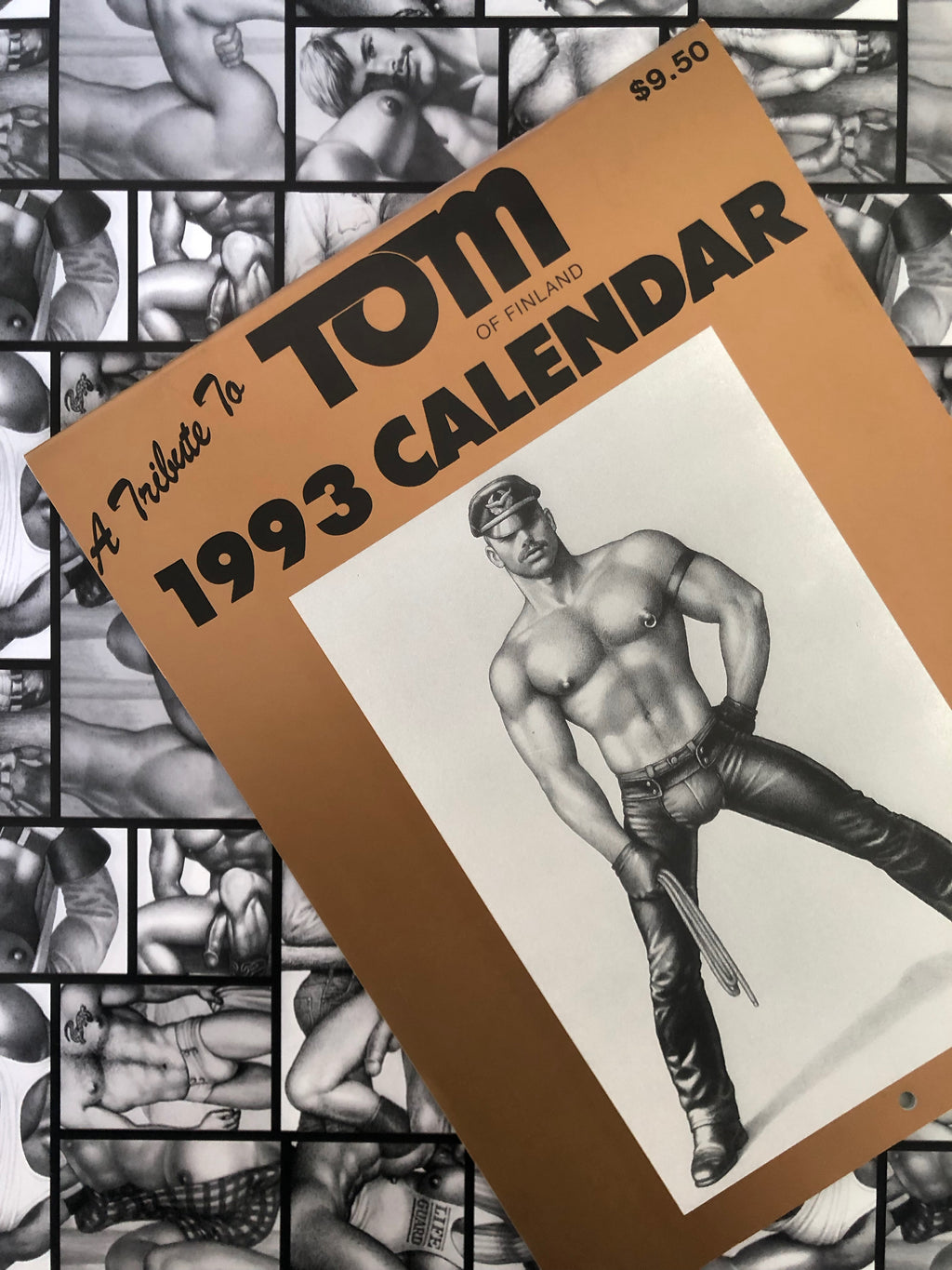 Vintage Tom of Finland 1993 Wall Calendar