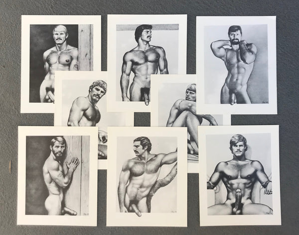 Tom of Finland Large Vintage Cardstock Prints