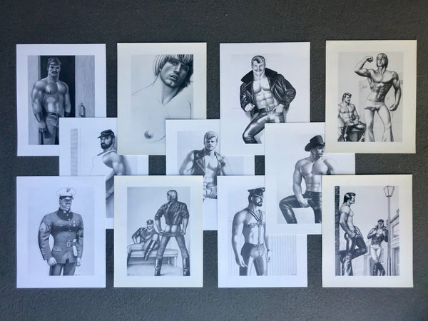 Tom of Finland Vintage Cardstock Prints
