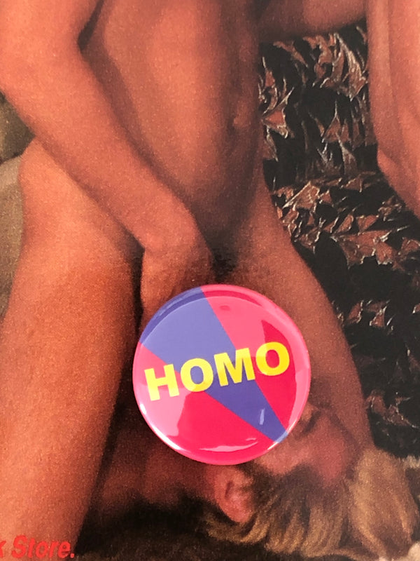 Homo Pin by Word for Word Factory