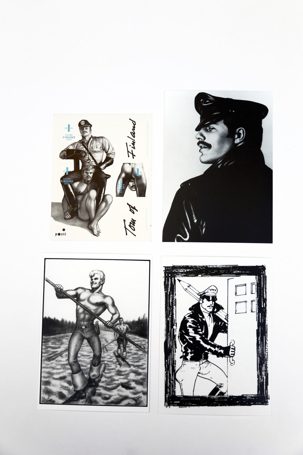 Tom of Finland Stamp and Postcard Set