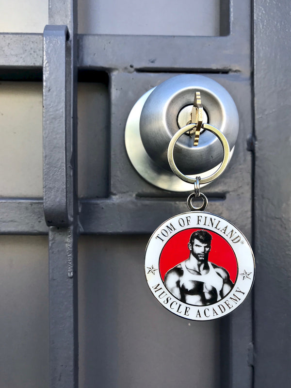 Tom of Finland Muscle Academy Key Ring