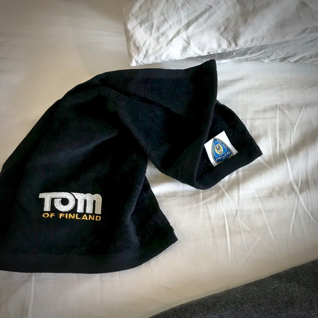 Tom of Finland Embroidered Cum Rag