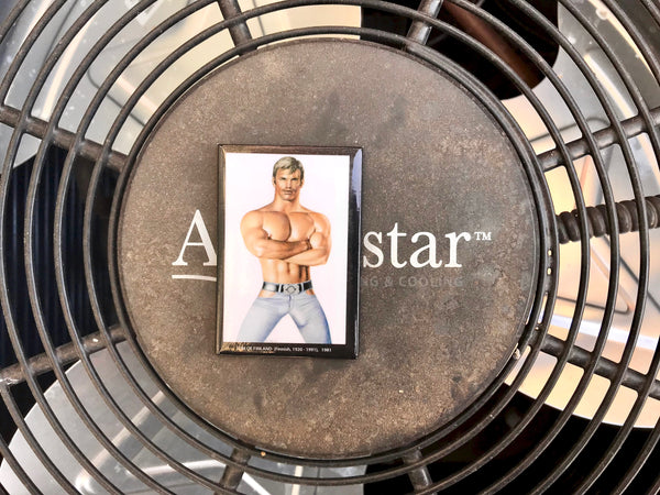 Denim Stud Magnet