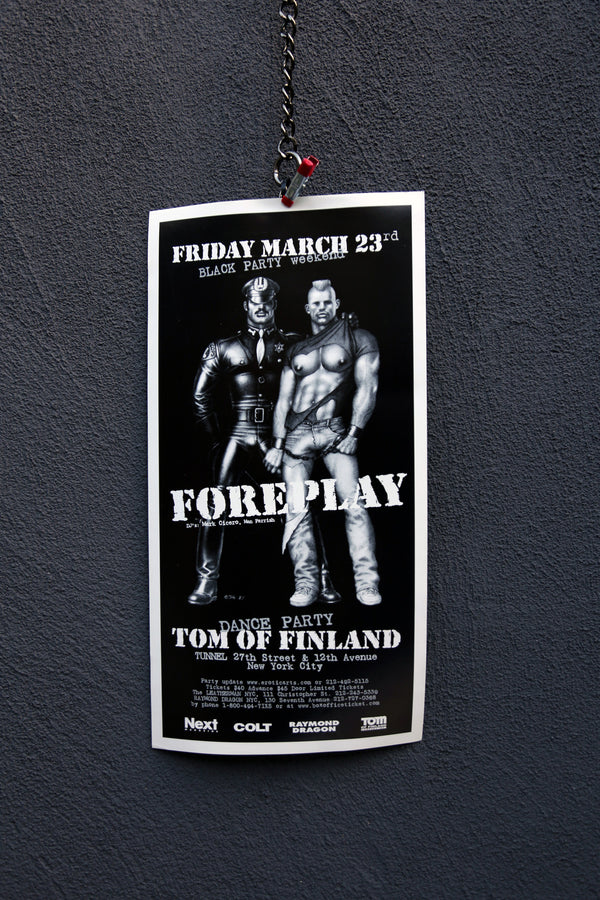 "Vintage Tom of Finland ""Foreplay"" Poster"