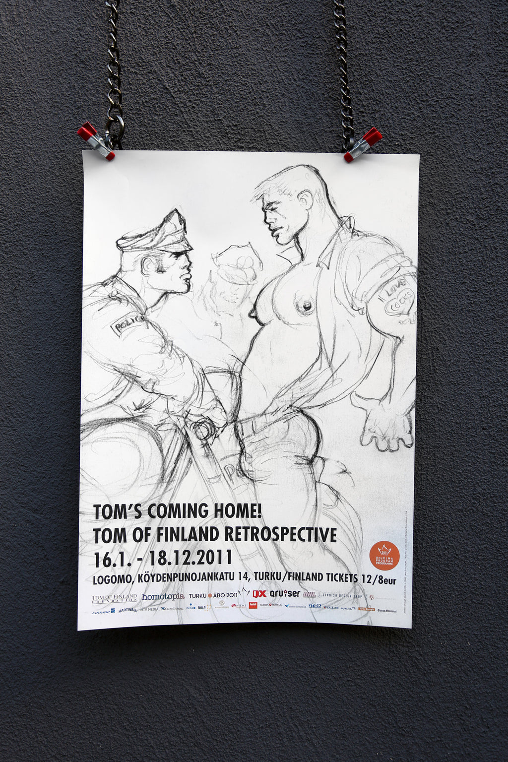 Vintage Tom's Coming Home Poster