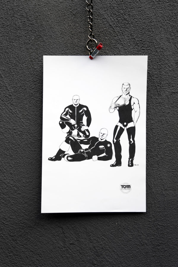 "Tom of Finland ""Untitled"" 10"