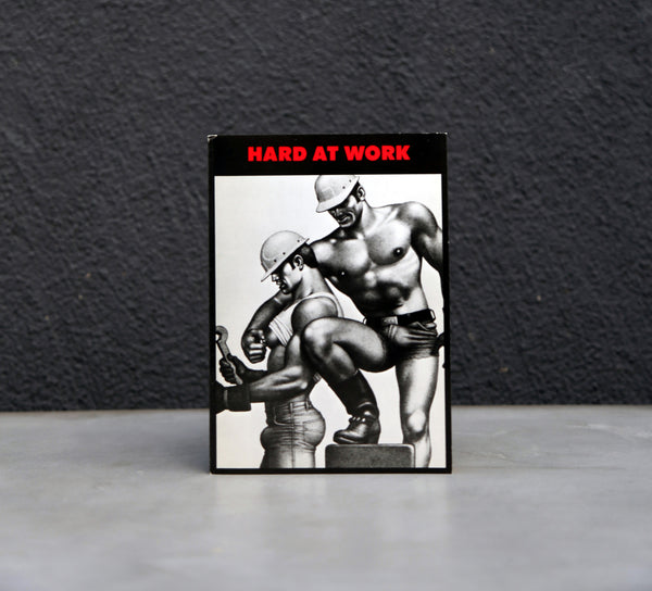 "Vintage Tom of Finland ""Hard At Work"" Greeting Card"