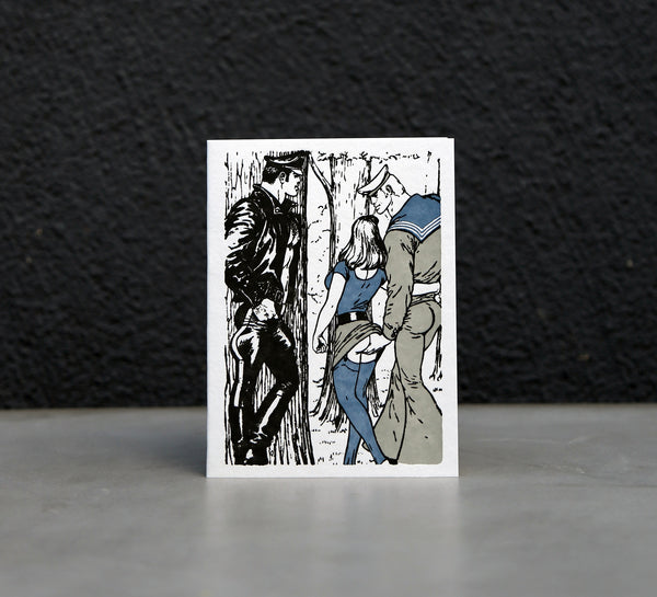 Tom of Finland Letterpress Greeting Cards
