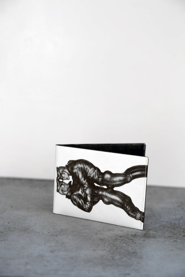 "Tom of Finland ""Biker Duo"" Tyvek Paper Wallet"