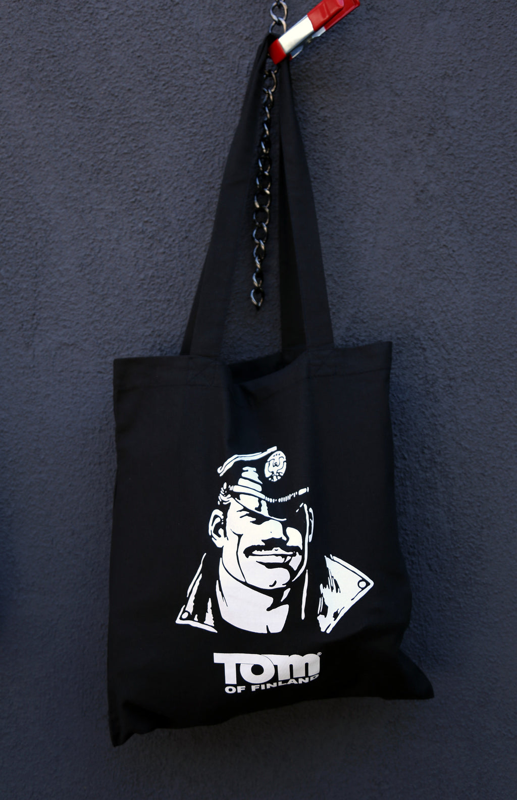"Tom of Finland ""Leatherman"" Tote Bag"