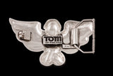 Jonathan Johnson x Tom of Finland FLYING COCK Sterling Silver Belt Buckle