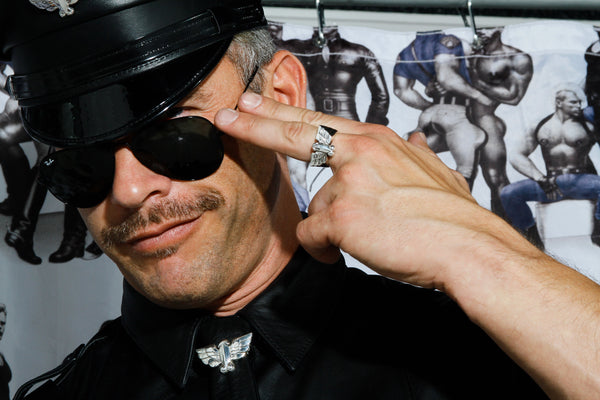 Jonathan Johnson x Tom of Finland FLYING COCK Sterling Silver Ring