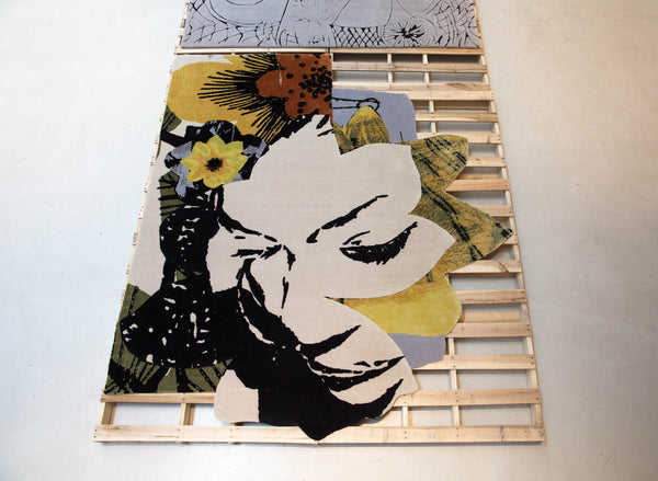 Mickalene Thomas: Henzel Studio Collaborations Art Rug