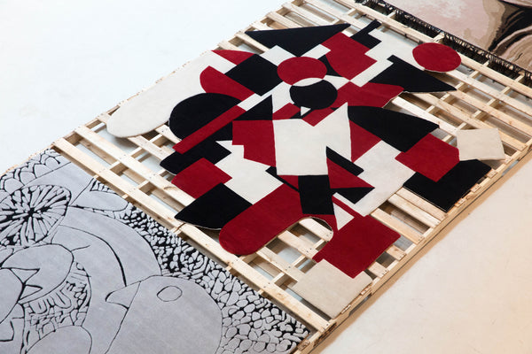 assume vivid astro focus: Henzel Studio Collaborations Art Rug