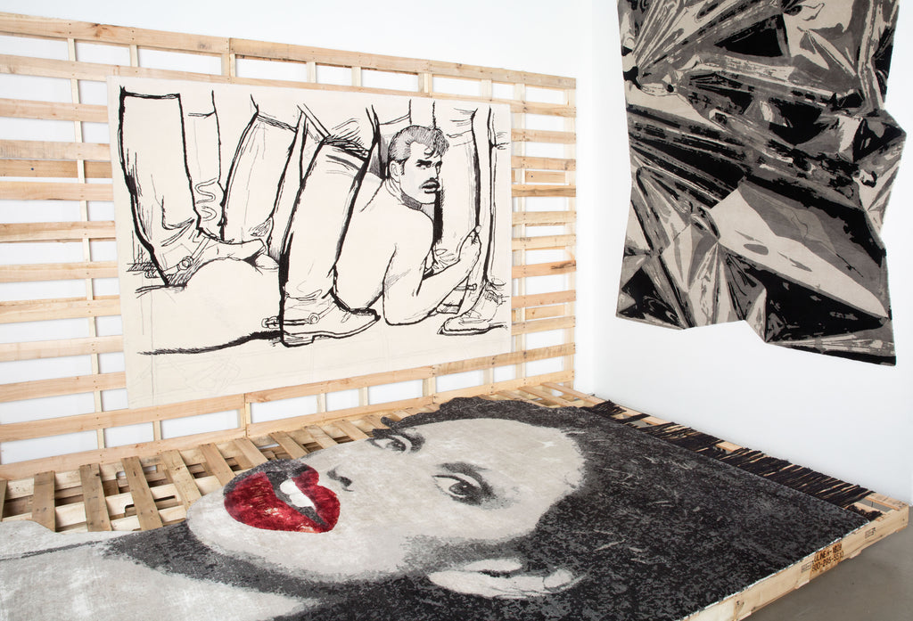 Linder: Henzel Studio Collaborations Art Rug