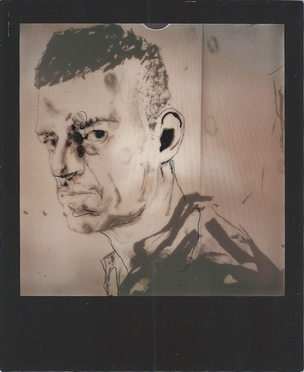 Tom of Finland Store : Slava Mogutin polaroid portrait by Robert Knoke, queer art