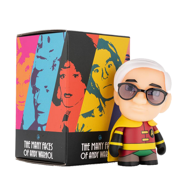 The Many Faces of Andy Warhol Mini Figure Series by Kidrobot