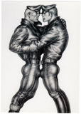 Leather Duo - Tom of Finland Postcard